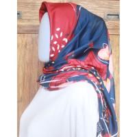 Hijab Voal Segiempat motif