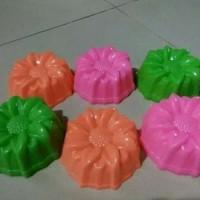 cetakan kue putu ayu / agar jelly bentuk bunga teratai