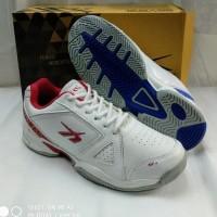 sepatu olahraga tenis spotec Dexter white red 38-43 original spotec