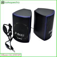 Speaker Aktif Fleco-F-018-Speaker Mini Komputer/HP