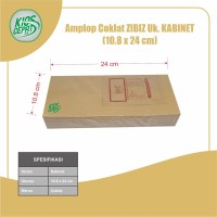 Amplop Coklat Ukuran Kabinet (1Pack Isi 100pcs)