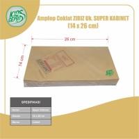 Amplop Coklat Ukuran Super Kabinet (1Pack Isi 100pcs)