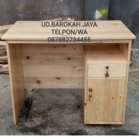 meja guru/meja kantor/meja furniture/meja kayu jati belanda