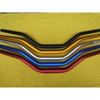 Stang Fatbar dan Raiser Hitam Merah Gold Biru Silver - W175 Vixion