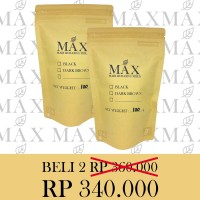 Max Hair Building Fiber Refill Pack 100g caboki PROMO 2 PACKAGE!!