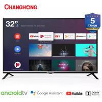 [Resmi] Changhong Official Android TV 32 Inch L32H4 Smart TV DVB T2