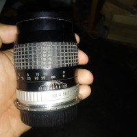 Lensa Fix Jadul Hoya 135mm f 2.8 - Lens mount dslr canon