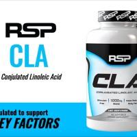 Suplemen Fitness RSP CLA 180 Soft Gels Fat Burner SxFc20149