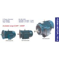 YUEMA AC-3ph Motor Listrik 5,5 KW 4 Pole Foot Mounting (B3)