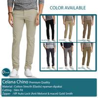 Celana Panjang Chino Slim Fit | Celana Panjang Pria | Kualitas Premium
