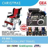 Kursi Roda Lipat GEA FS 868 L / Kursi Roda Travel GEA FS 868 L