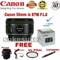 LENSA CANON 50mm F1.8 IS STM - FIX LENS CANON 50MM F1.8MM IS STM