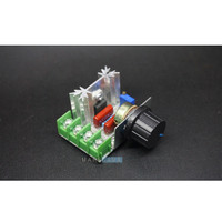 Dimmer SCR 2000W Motor Speed Controller 220V 16A AC PWM Regulator