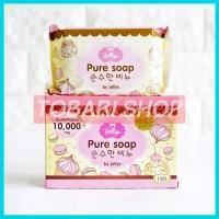 sabun pemutih badan Jellys Pure Soap Thailand 100 % Original