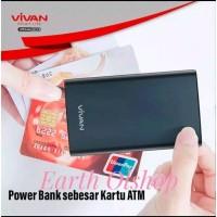Vivan Power Bank 10000 Mah VPB F10 Bank Card size