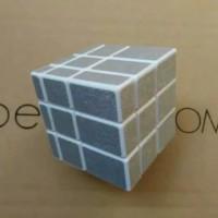 Mainan Rubik Mirror Magic Cube Silver