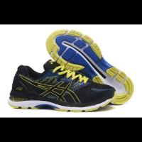 Sepatu Voli Asics Gel Nimbus 20 Black Yellow Blue