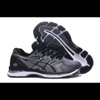 Sepatu Voli Asics Gel Nimbus 20 Grey Black White