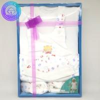 Kado Hadiah Bayi - Newborn Baby Gift Set - Baju Kodok GB035 Purple