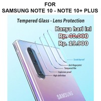 Tempered Glass Samsung Note 10 - Note 10 Plus Pro anti gores hp CAMERA