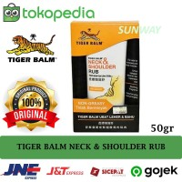 TIGER BALM NECK & SHOULDER RUB / Gel / Balsam / Balsem Leher & Bahu