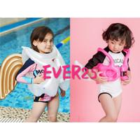 pelampung renang anak rompi renang swim vest kids 2-10th - pink