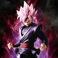 Banpresto Dragon Ball Super Ichiban Kuji Son Goku Zamasu Rose Figure