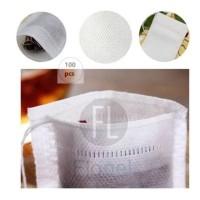 Filter Teabags/Kantong Saring Teh 10x15 cm - Food Grade Filter Teabags