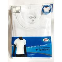Kaos Dalam / Kaos Oblong Pria Rider Putih Round | O & V NECK - PUTIH