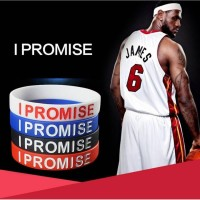 I PROMISE GELANG NBA WRISTBAND NIKE SPORT BASKETBALL LEBRON JAMES