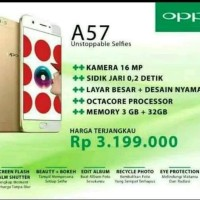 HP OPPO A57 RAM 3/32GB ( Oppo A57 3/32Gb ) Garansi Resmi Gold/ Emas