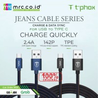 T-Phox Jeans Cable for USB to Type-C 2.4A