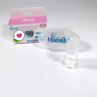 Marveila Finger Toothbrush , Sikat gigi bayi silikon