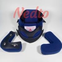 Busa helm INK CX 22 (Full Set) (Kancing besi)