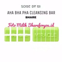SHARE 1/4 Somebymi Some By Mi AHA BHA PHA Miracle Cleansing Bar