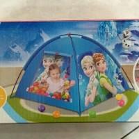 Tenda anak karakter frozen bisa untuk mandi bola