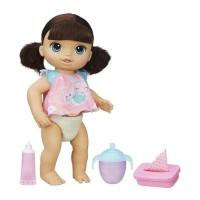 Mainan Boneka Baby Alive Twinkles n Tinkles Brunette Doll C2701