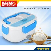Power Lunch Box Electric Elektrik Kotak Penghangat Pemanas Makanan