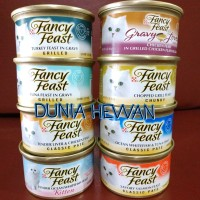 Makanan Kucing Basah (Wet Food) Fancy Feast 85g 85 g 85 gr 85gr - Grilled Tuna