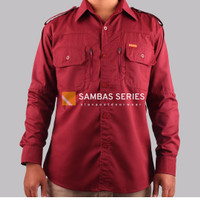 Kemeja PDL SLAVA Sambas Series pakaian dinas lapangan outdoor shirt be