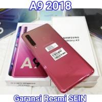 HP Samsung Galaxy A9 2018 64gb 128gb 2nd Second Resmi SEIN Fullset OEM