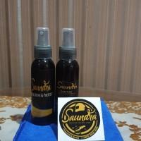 Saundra Pengkilap kendaraan/ helm + microfiber + parfum serbaguna
