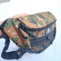 Tas waist Bag camo Distro noise bag in