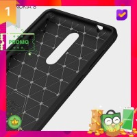 Case Nokia 8 Case Ipaky Carbon Soft Series