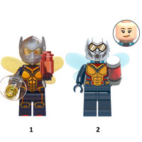 Marvel Avengers Antman The Wasp Hope van Dyne Minifigure Lego Bootleg