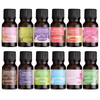 Pengharum Ruangan Essential oil Aroma terapi diffuser Humidifier 10ml