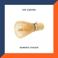 Chasen Bamboo Whisk Kuas Pengaduk Matcha