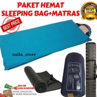 Sleeping Bag Bantal SB Ultralight Plus Matras Camping - PAKET HEMAT