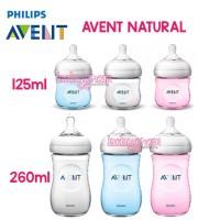 Avent Botol Susu Bayi Philips Bottle Natural 125ml 260 ml Biru Pink Pu