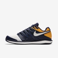 Nike Air Zoom Vapor X Navy/Orange Sepatu Tenis/Tennis Shoes Original
